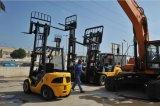 Marque de l'ONU 3500kg chariot élévateur à fourche avec 7m mât triplex