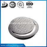 Ronda de fundição de ferro dúctil/fundido com tampa de esgoto SGS Certified