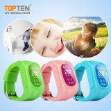 GPS Kids Watch com Two Way Talking, Sos, Tomado de Alarme, Free APP (WT50-ER)