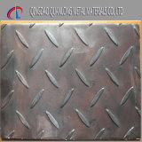 Placa de aço laminada a alta temperatura da Senhora Chequered do carbono do ferro