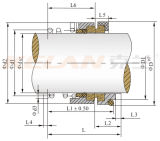 120 Serien-Pumpen-mechanische Dichtung (KL120-50)