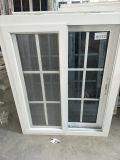 Schiebendes Fenster der einfacher Entwurfs-preiswertestes Preis-UPVC mit einzelnem Glas