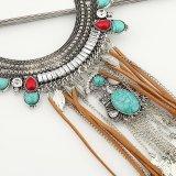 Juwelen van de Halsband van de Verklaring van de Leeswijzer van de Bladeren van de Gem van de manier de Turkooise