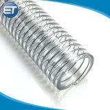 Fil d'acier en PVC flexible d'aspiration avec armé à haute compression fiable pour le transport du lait de la bière