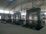 Terminar a linha de produção da madeira compensada e a madeira compensada que fazem máquinas