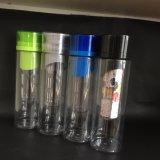 Heißer Verkauf BPA geben Frucht Infuser Wasser-Flasche frei