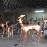 새로운 디자인 스테인리스 동물성 조각품 환영 OEM ODM 중국제