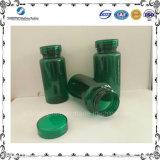 OEM緑Pet150mlの薬はDissolubleプラスチック包装のびんをびん詰めにする