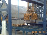De volledig Automatische Machine Qft10-15 van het Blok met de Kar van de Vinger