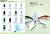 [1000كّ] مستديرة يخلو بلاستيكيّة يعبر زجاجات مع [سكرو كب] أحمر
