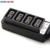D Mâle Koolertron-Tap Power Tap de type B à 4-Port femelle D-Appuyez sur P-Appuyez sur le câble adaptateur de moyeu