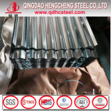SGCC Dx52D galvanisiertes Stahlzink-Metallgi-gewölbtes Blatt