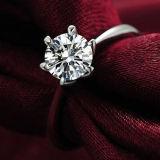 De duidelijke Zircon Ingelegde Ring van de Juwelen van de Partij van de Overeenkomst van het Huwelijk Bruids
