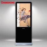 43 polegadas ls1000UM Totem Upstand cartazes publicitários LCD exibir