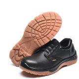 Véritable Anti-Hit Leatehr Chaussures de sécurité