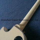 Le lait blanc Lp guitare électrique avec de l'Ébène poutre (BPL-344)