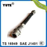 Boyau en caoutchouc de Yute hl de frein hydraulique de 1/8 pouce d'ensemble de tuyau