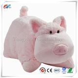본래 흔들리는 채워진 돼지 베개 견면 벨벳 애완 동물