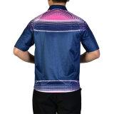 승화해 인쇄해서 3개의 단추는 운동복 남자의 폴로 t-셔츠 크게 한다