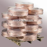 15m Copper Pipe Pancake Coil Copper Tube dans Airconditioning