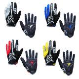 Серый мотоцикл перчатки Riding спорта высокого качества участвуя в гонке перчатки (MAG56)