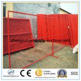 6FT x 10FT pour le panneau de clôture provisoire du marché de Ca