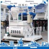 Js500 강제적인 지속적인 쌍둥이 샤프트 믹서 500 리터 구체
