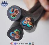 300/500 (h05rn-f Typ) (h07rn-f Typ) flexibles Gummikabel 450/750V