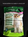Tofu do chá verde que aglutina a maca de gato