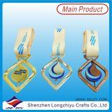 2016 Medalla de metal olímpica personalizada de la forma del buñuelo de China con la cinta