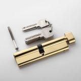 Cilindro de oro del bloqueo de los accesorios del hardware de la puerta de la venta caliente