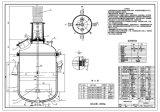 Edelstahl 316 Reactor mit Mixer