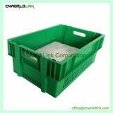 Venta caliente la comida y apilamiento de malla de plástico encajables Caja de pan