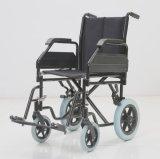 Функциональное стальное ручное, складывающ, кресло-коляска, облегченная для более старых людей (YJ-035)