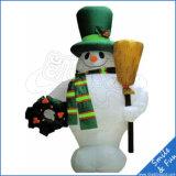 Weihnachtsdekoration-Weihnachtsaufblasbarer Spielzeug-Schneemann