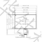 LCD 9 '' TFT LCD Vertoning in 1024*600 voor PC van de Tablet IMD, Ka-TFT090be003