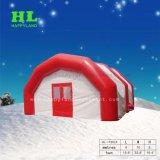 Aufblasbares riesiges quadratisches weißes Zelt für das Kampieren