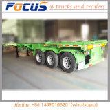 Hot Sale 40FT Remorque utilitaire, squelettique, semi-remorque Remorque de camion