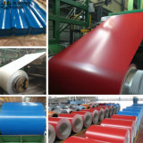 Bobina d'acciaio galvanizzata preverniciata ed acciaio di PPGI