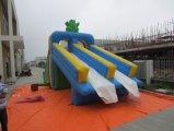 子供の商業膨脹可能な跳ね上がりのスライド、水スライダ