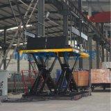 plate-forme de fonctionnement du quai de chargement des ciseaux 5ton