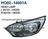 Lampada capa di alta qualità per il Hatchback 2012 di KIA Rio