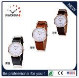 Mouvement Miyota japonais de l'homme en acier inoxydable Fashion Roman Daniel Wellington Watch dw Montres bracelet en cuir