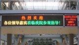 Russland heißes verkaufenP10 verdoppeln einfarbiges LED-Zeichen