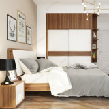 Bj03A Cama de madeira Night Stand Wardrobe Modern Bedroom Set