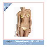De open Hete Sexy Bikini Swimwear van Bandeau van de Foto van het Meisje