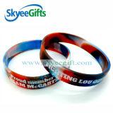 Nuovo braccialetto del silicone di segmento del commercio all'ingrosso di alta qualità di disegno di stile libero