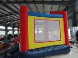 Castelo de salto inflável do campo de jogos ao ar livre