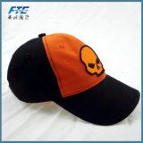 OEMの100%年のあや織りの綿の刺繍によって曲げられる縁の野球帽