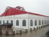Tenda rossa Alto-Classificata di banchetto della festa nuziale del PVC